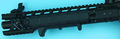 "G&P MOTS 12.5"" Keymod (Wire Cutter Design) (Black)"