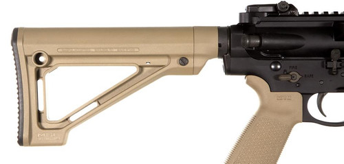 Magpul MOE Fixed Carbine Stock – Mil-Spec. FDE