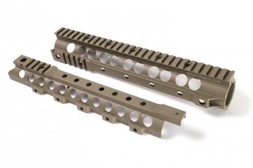 "Knight's Armament Co URX 3.1 13.5 Free Float Rail System for M4 / M16 Series Airsoft AEG Rifles - 13.75"" / Tan"