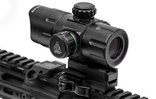 """UTG 4.2"""" ITA Red/Green T-Dot with QD Mount, Riser Adaptor- SCP-DS3840TDQ"""