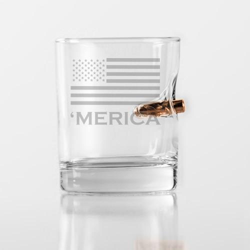 'Merica Rocks Glass 11oz
