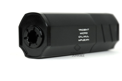 Helix Trident Micro Suppressor (Black)