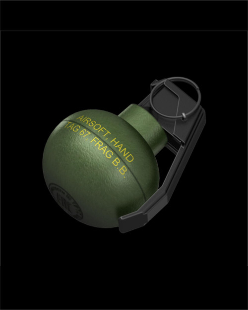 TAG-67 Hand Grenade (6 Pack) (Pickup or Hazmat Shipping)