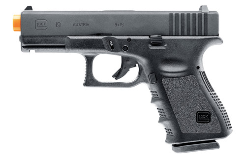 GLOCK 19 GEN 3 GAS BLOWBACK AIRSOFT PISTOL - Elite Force
