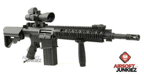 Airsoftjunkiez custom HPA SR25K DMR Package - Black