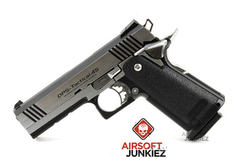 Tokyo Marui Hi-Capa 4.3 Dual Stainless Gas Pistol