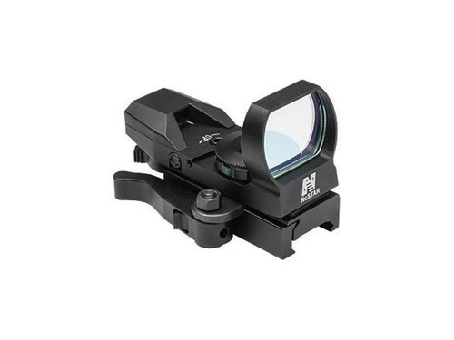 NcSTAR 4 Reticle Green Reflex Sight with Quick Release