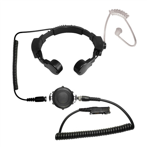Code Red - Assault-K Waterproof Tactical Throat Mic for Kenwood/Baofeng Radios
