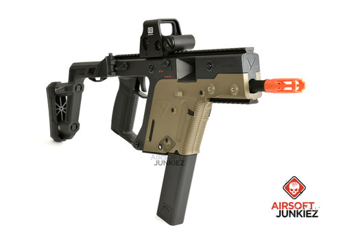 KRISS USA Licensed Kriss Vector Airsoft AEG SMG Rifle by Krytac - Dual Tone