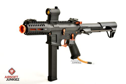 Airsoftjunkiez Custom HPA ARP9 CQB --Amber w/ Grip Line