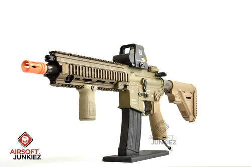 Airsoft Junkiez HK 416A5 Tan HPA Rifle