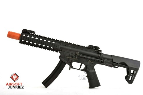 King Arms 9mm SBR PDW AEG Rifle