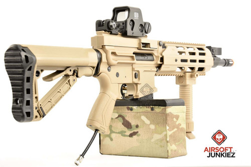 G&G CM16 LMG Custom HPA Tan