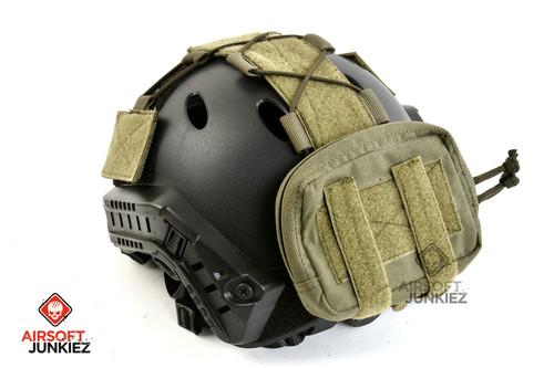 OPS Tactical Helmet Counterweight Pouch (Ranger Green)