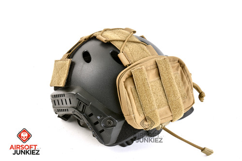 OPS Tactical Helmet Counterweight Pouch (Coyote Brown)