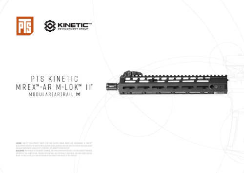 PTS KINETIC MREX™-AR M-LOK™ 11 ″