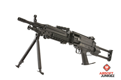 AirsoftJunkiez Wolverine Spartan Featherweight HPA M249 Package