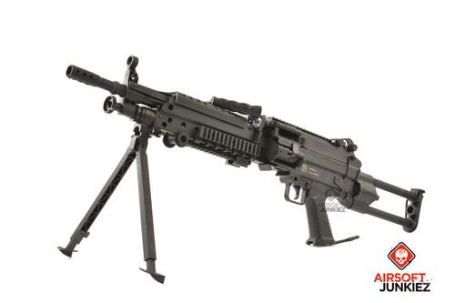 AirsoftJunkiez Wolverine Spartan Featherweight HPA M249 Package