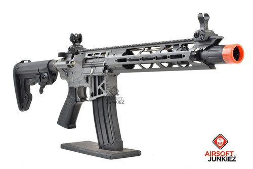 King Arms TWS M4 Skeletonized MLOK AEG - Grey