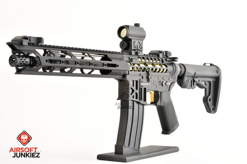 AirsoftJunkiez Custom King Arms Skeleton M4