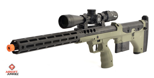 """Airsoftjunkiez Silverback SRS A2 22"""" with Mancraft HPA System   Select Color"""