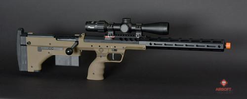 """Silverback Airsoft Desert Tech SRS-A2 22"""" Covert   FDE"""