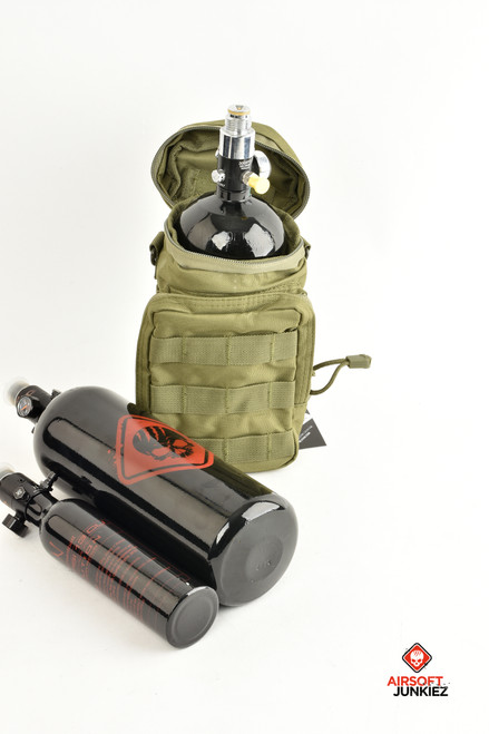 NcStar Bottle/Tank Pouch - Green