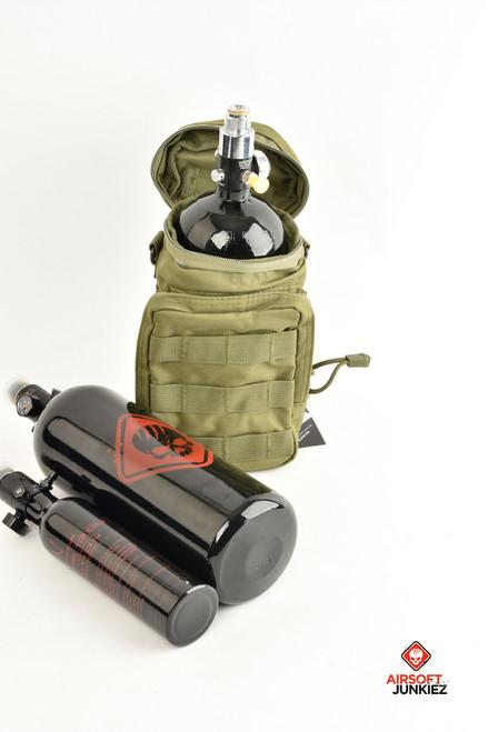 NcStar Bottle/Tank Pouch - Green