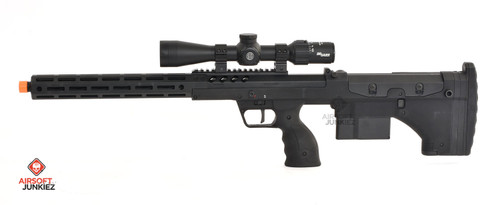 """Airsoftjunkiez  Silverback SRS A2 16"""" with Mancraft HPA System"""