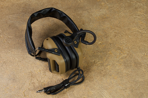 RogerTech EVO409 Ultimate Edition Electronic Hearing Protection Nexus TP-120 - Flat Dark Earth