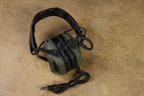 RogerTech EVO409 Ulitmate Edition Electronic Hearing Protection Nexus TP-120 - Olive Drab