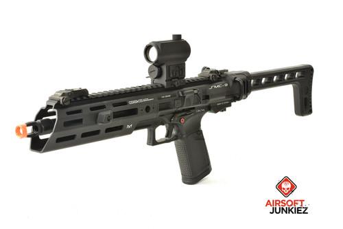 G&G SMC 9 Gas SMG Airsoft Carbine - Black