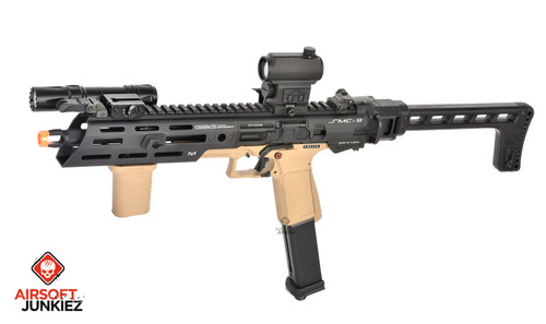 G&G SMC 9 Gas SMG Airsoft Carbine with GTP 9, Tan