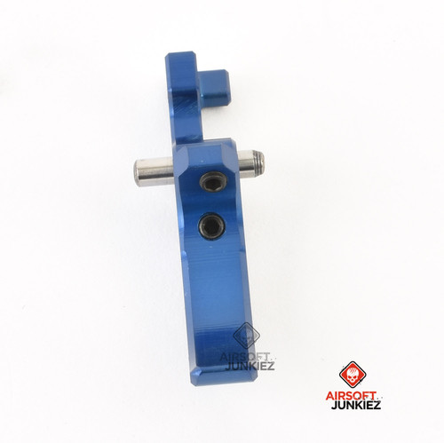 SPEED Airsoft M4 Curved Tunable Trigger Blue
