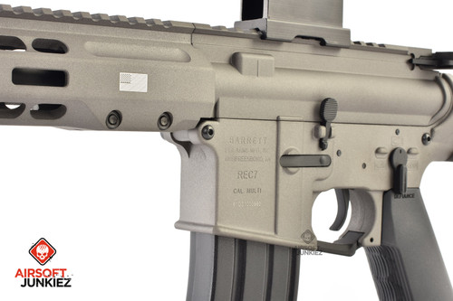 EMG / KRYTAC / BARRETT Firearms REC7 DI AR15 AEG Training Rifle - Tungsten SBR
