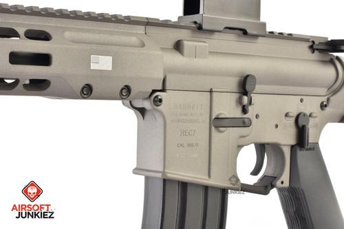 EMG / KRYTAC / BARRETT Firearms REC7 DI AR15 AEG Training Rifle - Tungsten SBR