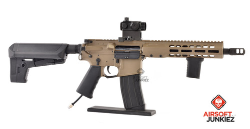KRYTAC / BARRETT Firearms REC7 DI AR15 SBR Tan HPA Package