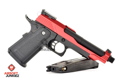 Airsoft Junkiez Custom Hi-Capa Entry Series - Big Red