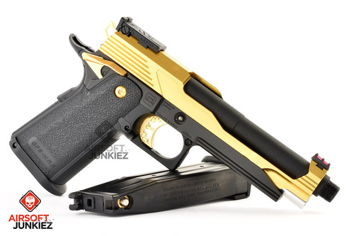 Airsoft Junkiez Custom Hi-Capa Entry Series - Au (Gold)