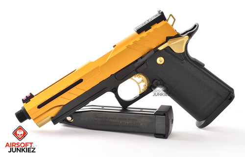 Airsoft Junkiez Custom Hi-Capa Entry Series - Gold Boi