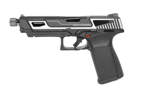 G&G GTP9 GREEN GAS BLOWBACK PISTOL -- MS Silver