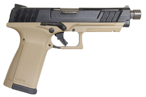 G&G GTP9 GREEN GAS BLOWBACK PISTOL -- Blk/Tan