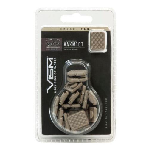 VISM Keymod Covers 18 pack (Black or Tan)