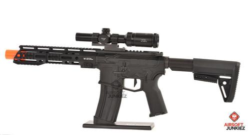EMG Helios F4 Defense Licensed F4-15 ARS-L MLOK PDW M4 Airsoft AEG Rifle - Black