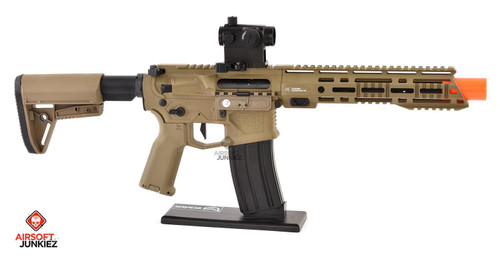 EMG Helios F4 Defense Licensed F4-15 ARS-L MLOK PDW M4 Airsoft AEG Rifle - Tan