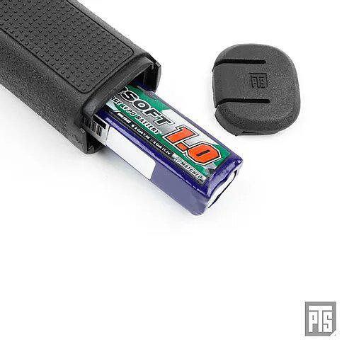 PTS EPF2 Vertical Foregrip with AEG battery storage