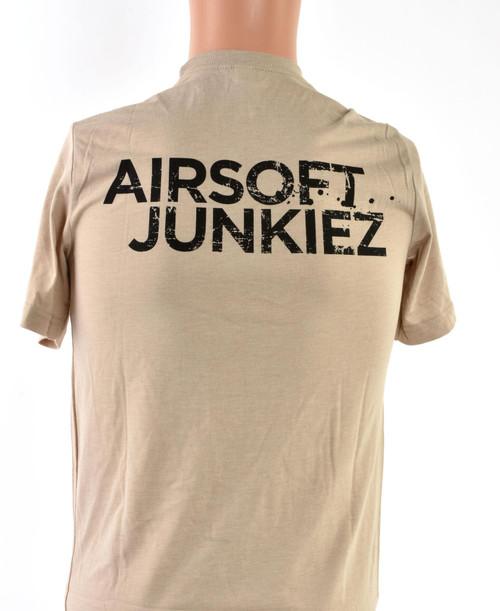 Airsoftjunkiez Tan T-Shirt