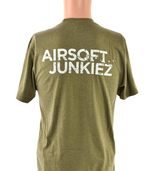 Airsoftjunkiez Green T-Shirt