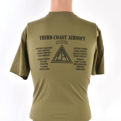 Third Coast Airsoft Green T-Shirt