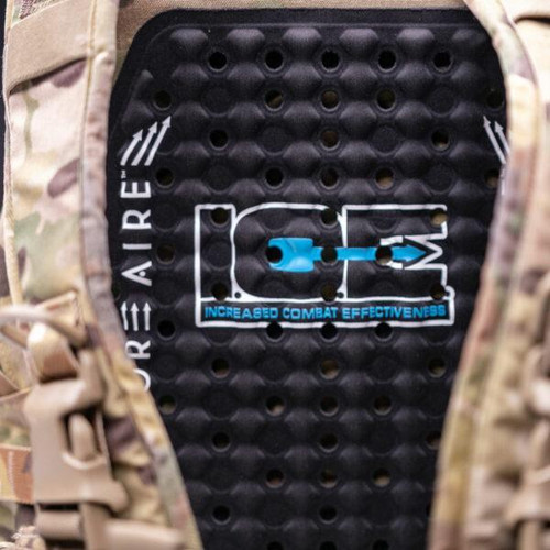 """Body Armor Vent """"ICE"""" Ventilation System for Concealable Body Armor & Plate Carriers Retro Fit Kit"""
